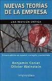 img - for NUEVAS TEORIAS DE LA EMPRESA (Spanish Edition) book / textbook / text book