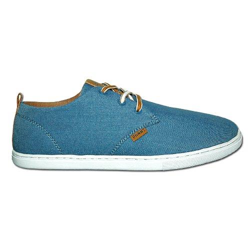 Djinns - LOW LAU LINEN - Sneaker - blue-39