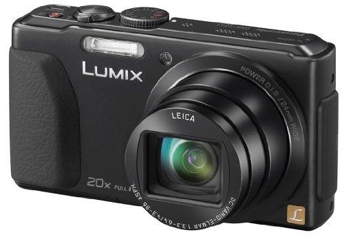 Panasonic DMC-TZ 41 EG-K Appareils Photo Numériques 18.9 Mpix Zoom Optique 20 x écran tactile 3 pouces - noir