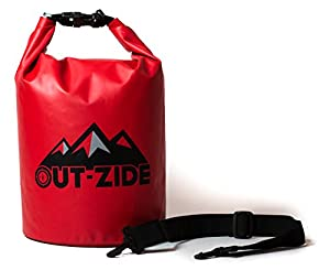 High Quality Multipurpose Dry Bag that is Lightweight and Very Resistant (Red,15L)