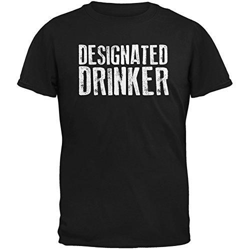 [Designated Drinker Black Adult T-Shirt - X-Large] (Designated Drinker)