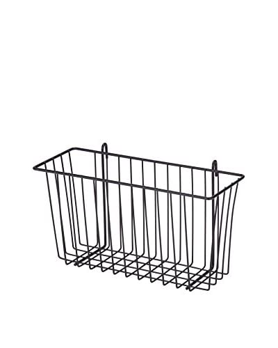 Honey-Can-Do Wire Accessory Basket, Black
