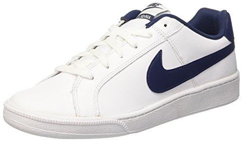 Nike Court Royale Scarpe da Ginnastica, Uomo, Bianco (White/Midnight Navy), 44