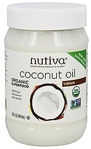 Nutiva Organic Virgin Coconut Oil, 15 Oz (Pack of 2)