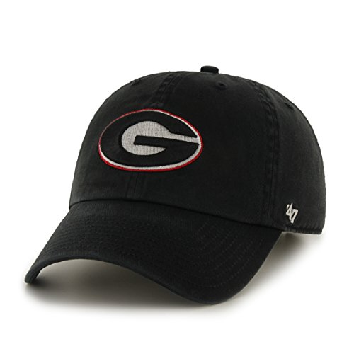 NCAA Georgia Bulldogs '47 Clean Up Adjustable Hat, Black, One Size (Georgia Bulldogs Mens Hoodie compare prices)
