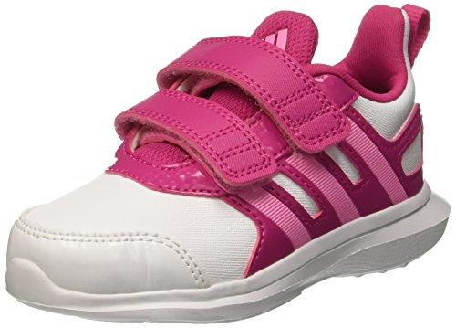 Adidas Hyperfast 2.0 Cf I Scarpe Walking Baby, Unisex bimbo, Multicolore (Ftwwht/Sepigl/Eqtpin), 21