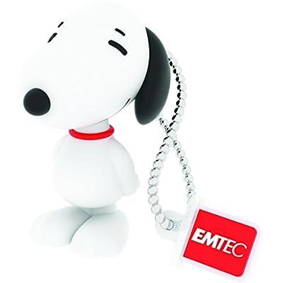 "EMTEC USB Flash Drive 8GB Stick 2.0 Peanuts "" Dog Snoopy "" 3D Design - PN 100"