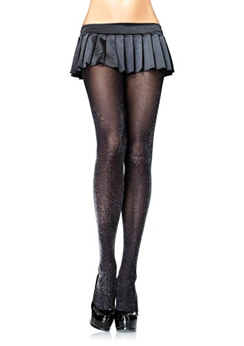 Womens Leg Avenue 7120 Glitter Lurex Tights