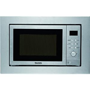 Baumatic BMC253SS Microwave Built In Stainless Steel