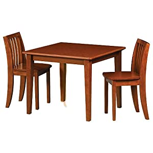 Solutions by Kids R Us Table and Chair Set - Cherry