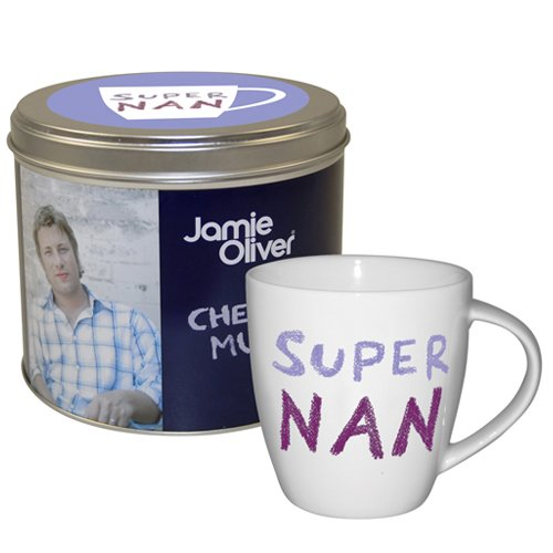 Jamie Oliver Super Nan Mug in Tin