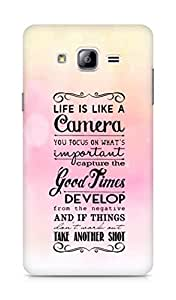 AMEZ life is like a camera Back Cover For Samsung Galaxy ON7