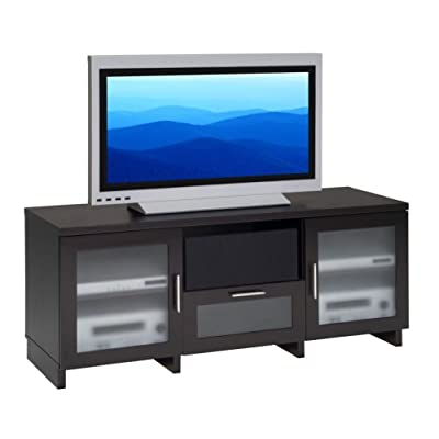 Furnitech 62 inch Contemporary Asian Console. (Wenge Finish)