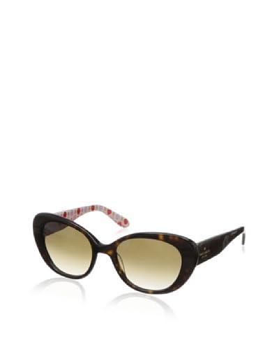 Kate Spade Women's Franca/2S Sunglasses, Tortoise