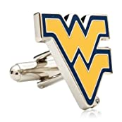 West Virginia Mountaineers Cufflinks-CLI-PD-WVU-SL