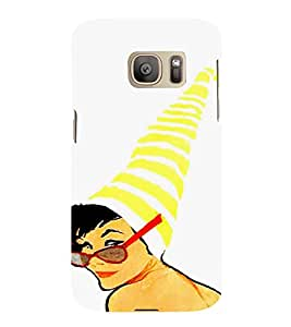 EPICCASE Party ready Mobile Back Case Cover For Samsung Galaxy S7 Edge (Designer Case)