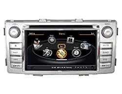See SDB Car DVD Player With GPS Navigation(free Map) For Toyota Hilux 2012 Audio Video Stereo System with Bluetooth Hands Free, USB/SD, AUX Input, Radio(AM/FM), TV, Plug & Play Installation Details