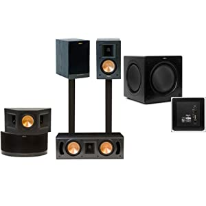 o deals klipsch bookshelf rb 41 ii home theater system sw 310 electronics deep discounts. Black Bedroom Furniture Sets. Home Design Ideas
