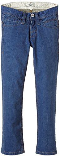 TOM TAILOR Kids Jungen Jeans coated raw denim paul/407, Einfarbig, Gr. 176, Blau (original 1000)