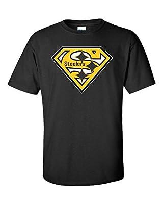 Local Imprint Men's Pittsburgh Steelers Diamond T-Shirt