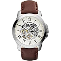 Fossil ME3052 Casual Grant Two-Hand Automatic Men's Watch (Cream)