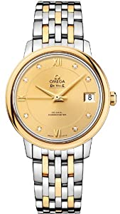 NEW OMEGA DEVILLE PRESTIGE CO-AXIAL LADIES WATCH 424.20.33.20.58.001