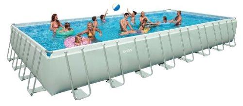 Intex pool - Ultra frame rectangular swimming pool ...