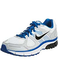 Nike Men's NIKE AIR PEGASUS+ 29 RUNNING SHOES 6.0 (WHITE/BLACK/BLUE SPARK/PURE PLATINUM)