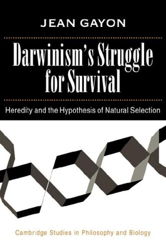 Darwinism's Struggle for Survival: Heredity and the Hypothesis of Natural Selection (Cambridge Studies in Philosophy and Biology)