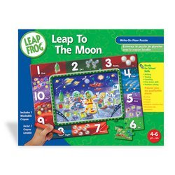 Cheap Master Pieces Puzzle Co. LeapFrog: Leap to the Moon Math Mission Write-On Floor Puzzle (B001MXKMPW)