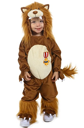8eighteen Wizard of Oz Cowardly Lion Cuddly Infant/Toddler Costume (Cowardly Lion Costume Plus Size)