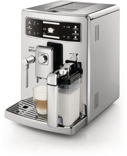 Saeco HD8946/01 Kaffee-Vollautomat Xelsis Digital ID (1.6 l, 15 bar, 1500 Watt, Milchbehälter) Edelstahl thumbnail