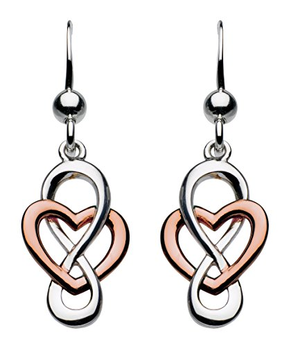 heritage-sterling-silver-and-rose-gold-plate-celtic-looped-heart-drop-earrings