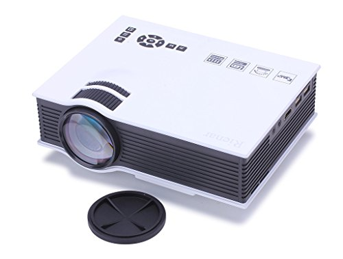Rienar multi media 800 lumens portable hd led projection for Micro projector for iphone 6