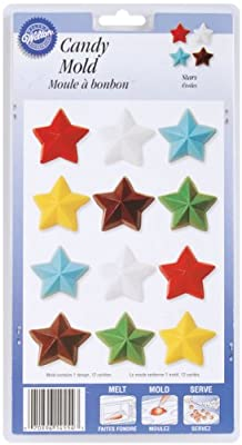Wilton 2115-1554 Stars Candy Mold