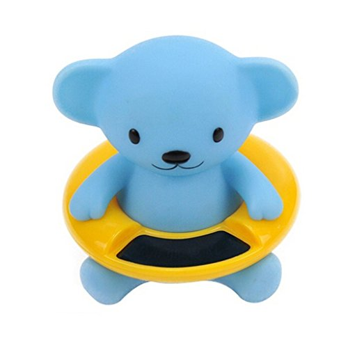 Lifemall BB Cute Animal Baby Infant Bath Tub Thermometer Water Temperature Tester Toy (Blue Bear) (Tub Temperature Gauge compare prices)