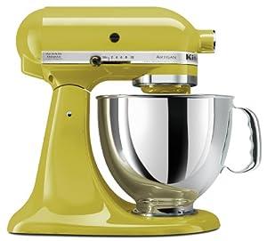 KitchenAid KSM150PSPE Artisan 5-Quart Stand Mixer, Pear