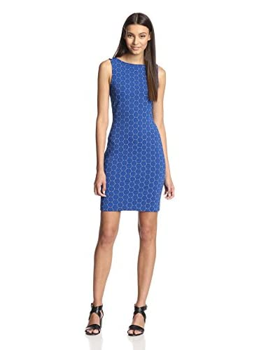 Julia Jordan Women's Sleeveless Circle Rio Knit Sheath Dress