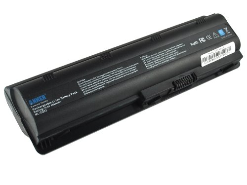 Anker Ultra High Capacity (12 cell / 8800mAh) New Laptop Battery for HP G42 G72 G4 G6 G7 G42t G72-250US G42-415DX; HP Envy 17; HP Pavilion DM4 DM4-1200 DM4-1300 DM4-2000 DM4-3000 DV5-2000 DV6-3000 DV3-4000 series; Fits MU06 MU09 593553-001 WD549AA [Li-ion 12-cell 8800mAh]