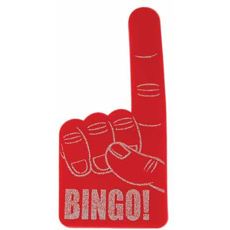 Bingo Foam Hand (1 per package)
