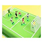 PME Football/Soccer Cake Topper Set 9pc