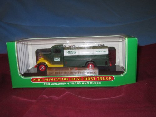 2000 Miniature Hess First Truck