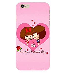 EPICCASE Everyday is Valentine day Back Case Cover For Apple iPhone 6 Plus/6s (Designer Case)
