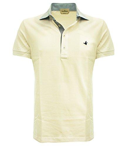201G.B002V0032 Brooksfield Polo collo camicia Bianco 58 Uomo