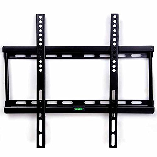 "Happyjoy Ultra Sottile TV Staffa Supporto a Muro per 23""-55"" (58cm-140cm) Schermi LCD LED 3D TV al Plasma Universale & VESA Massimo 400mm x 400mm Super Forte"