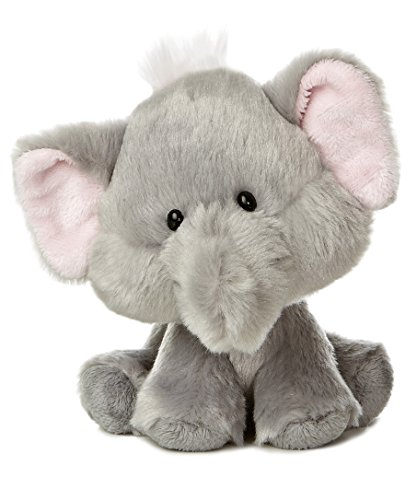 "Aurora World Wobbly Bobblee Elephant Plush, 6.5"" Tall"