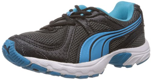 Puma Unisex Kuris Jr Ind. Black and Blue Aster Clogs and Mules - 1C UK  available at amazon for Rs.1674