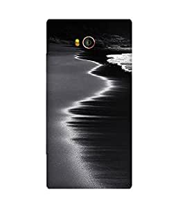 Black And White Waves Gionee Elife E8 Case