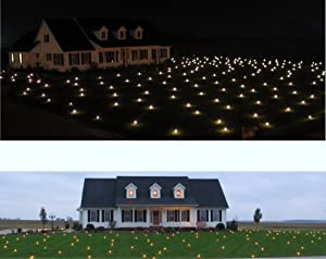 Lawn Lights Illuminated Outdoor Decoration, LED, Christmas, 36-10, Cool White