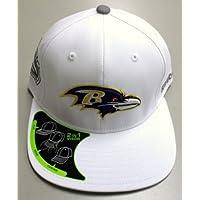 Balitmore Ravens Pro Shape 2 in 1 Visor Flex Reebok Hat SIze S/M